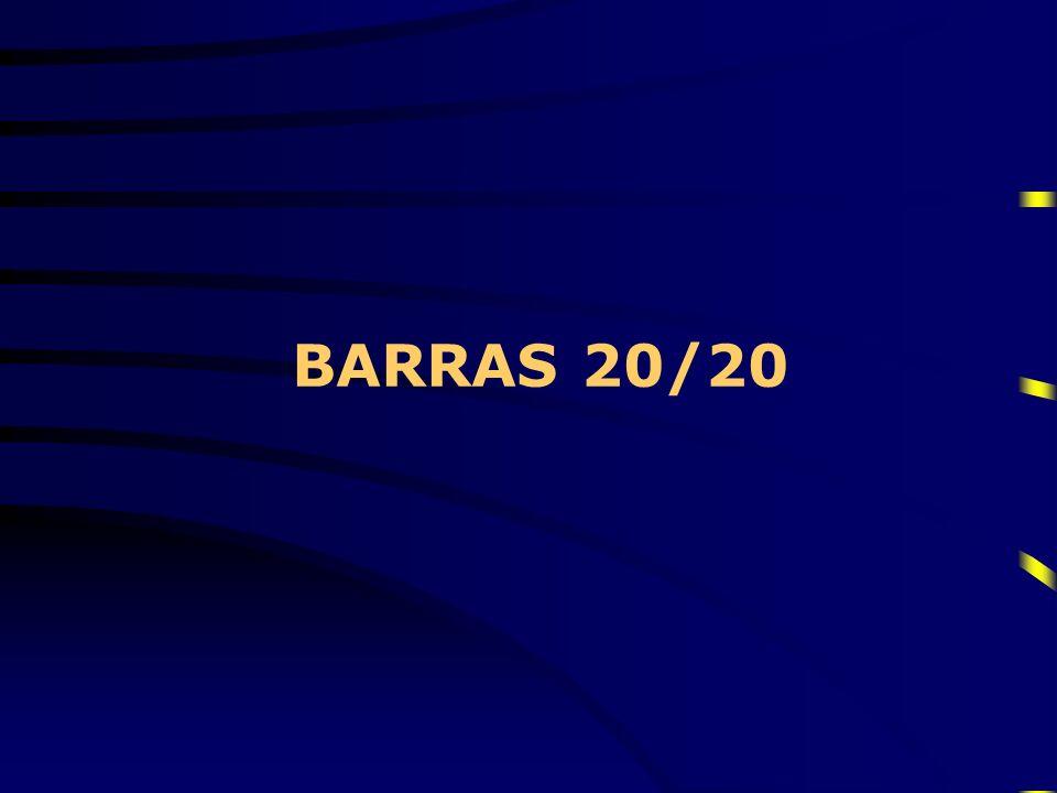 BARRAS 20/20