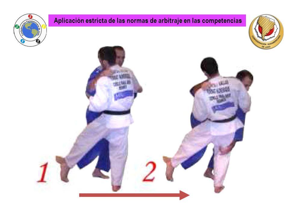Aplicación estricta de las normas de arbitraje en las competencias