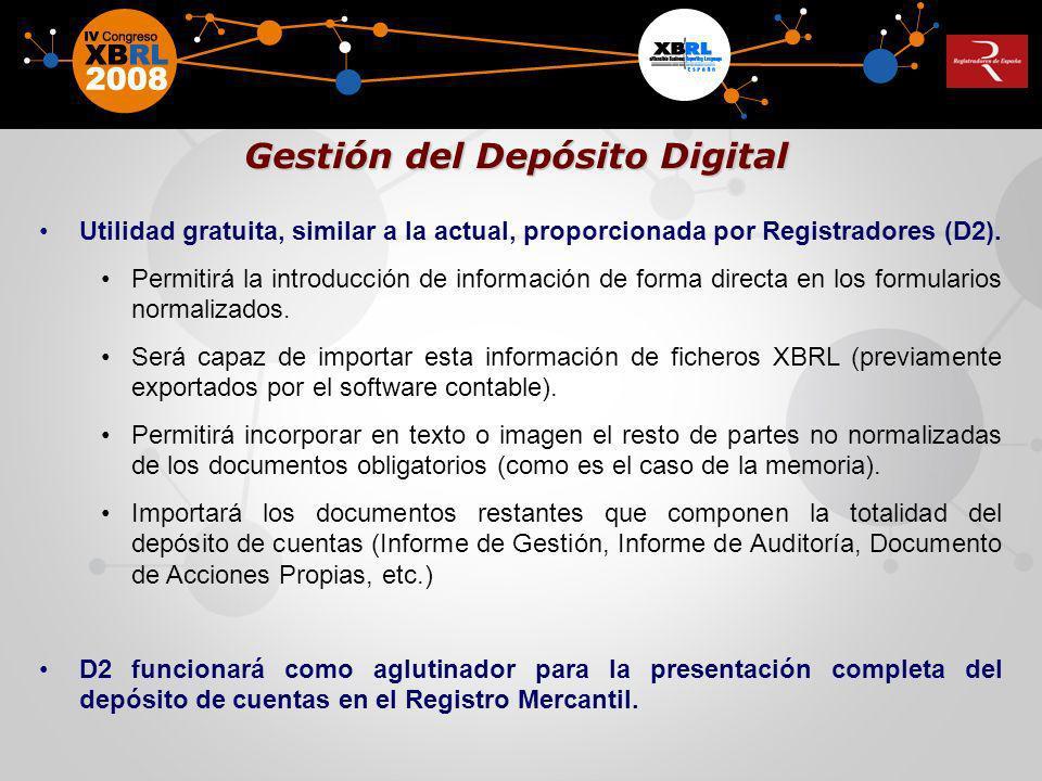 Gestión del Depósito Digital