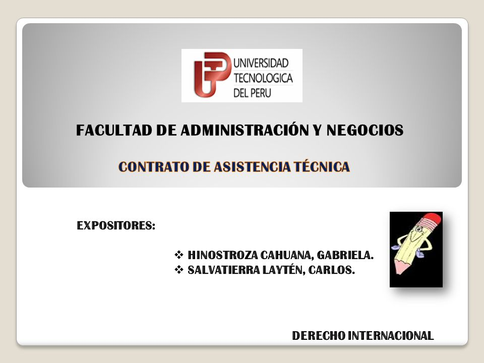 FACULTAD DE ADMINISTRACIÓN Y NEGOCIOS