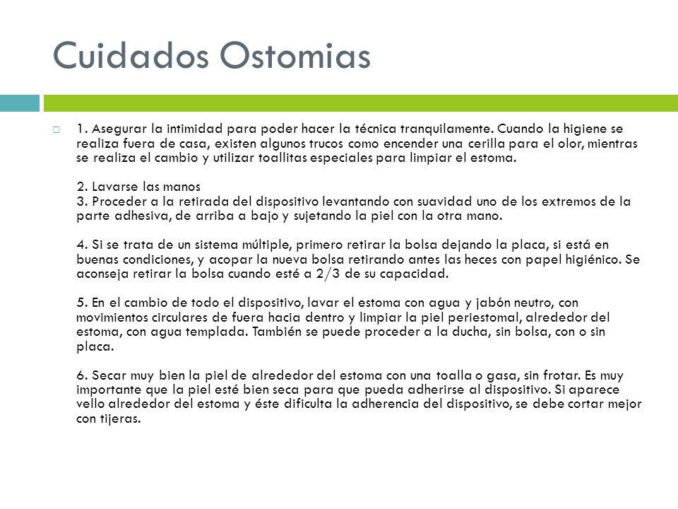 Cuidados Ostomias