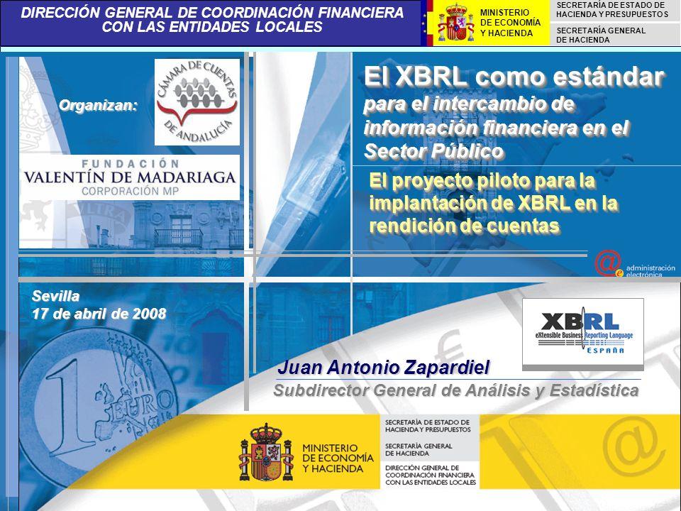 El XBRL como estándar para el intercambio de información financiera en el Sector Público
