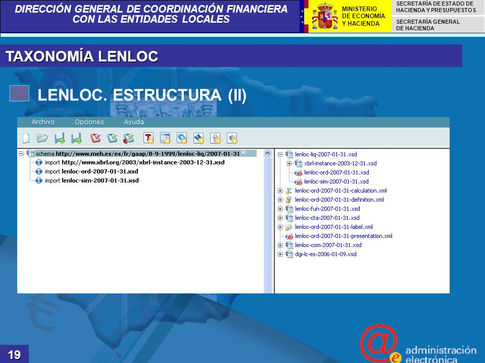 LENLOC. ESTRUCTURA (II)