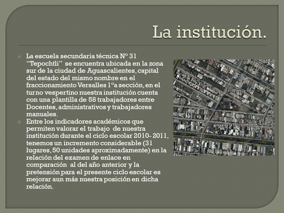 La institución.