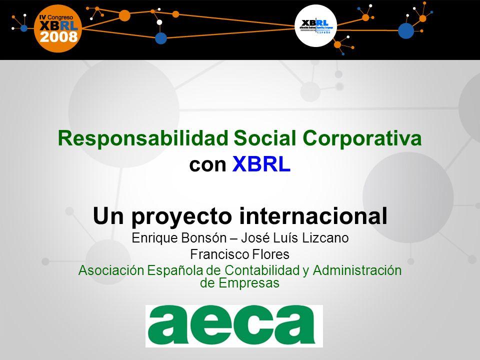 Responsabilidad Social Corporativa con XBRL