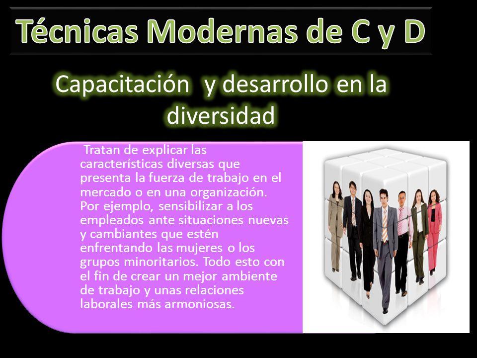 Capacitación y desarrollo en la diversidad