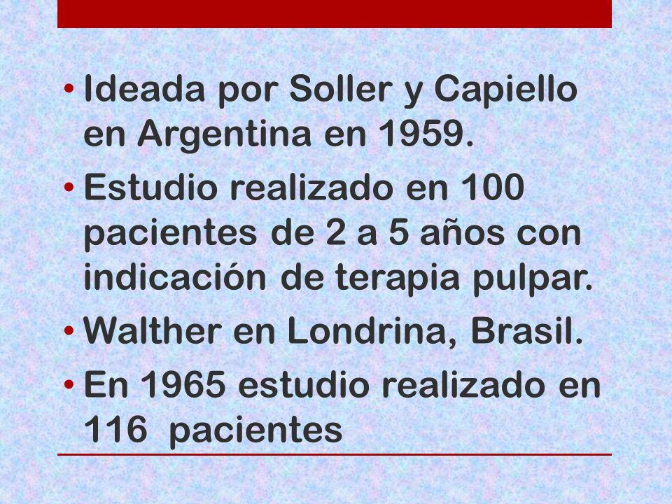 Ideada por Soller y Capiello en Argentina en 1959.