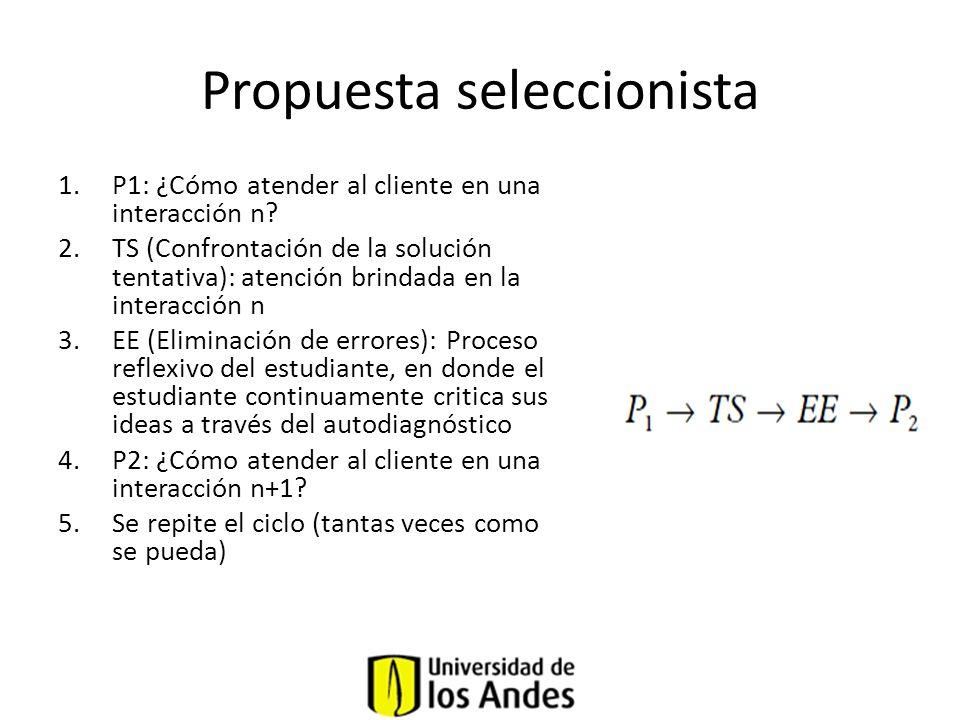 Propuesta seleccionista