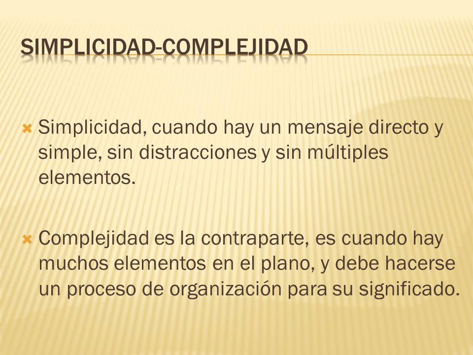 SIMPLICIDAD-COMPLEJIDAD