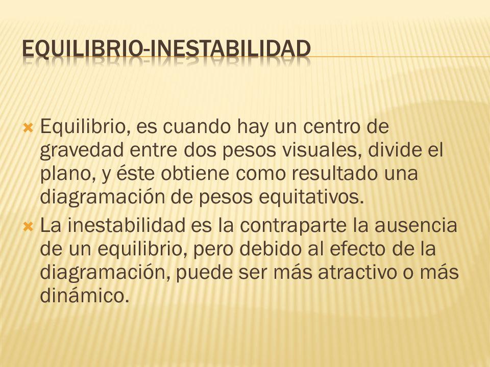 EQUILIBRIO-INESTABILIDAD