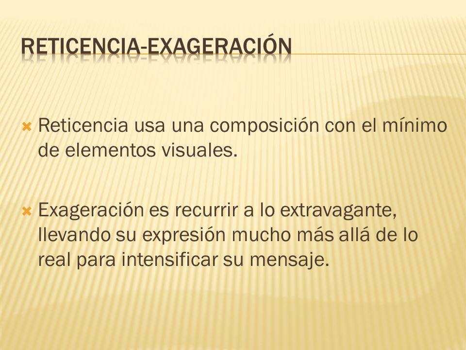 RETICENCIA-EXAGERACIóN