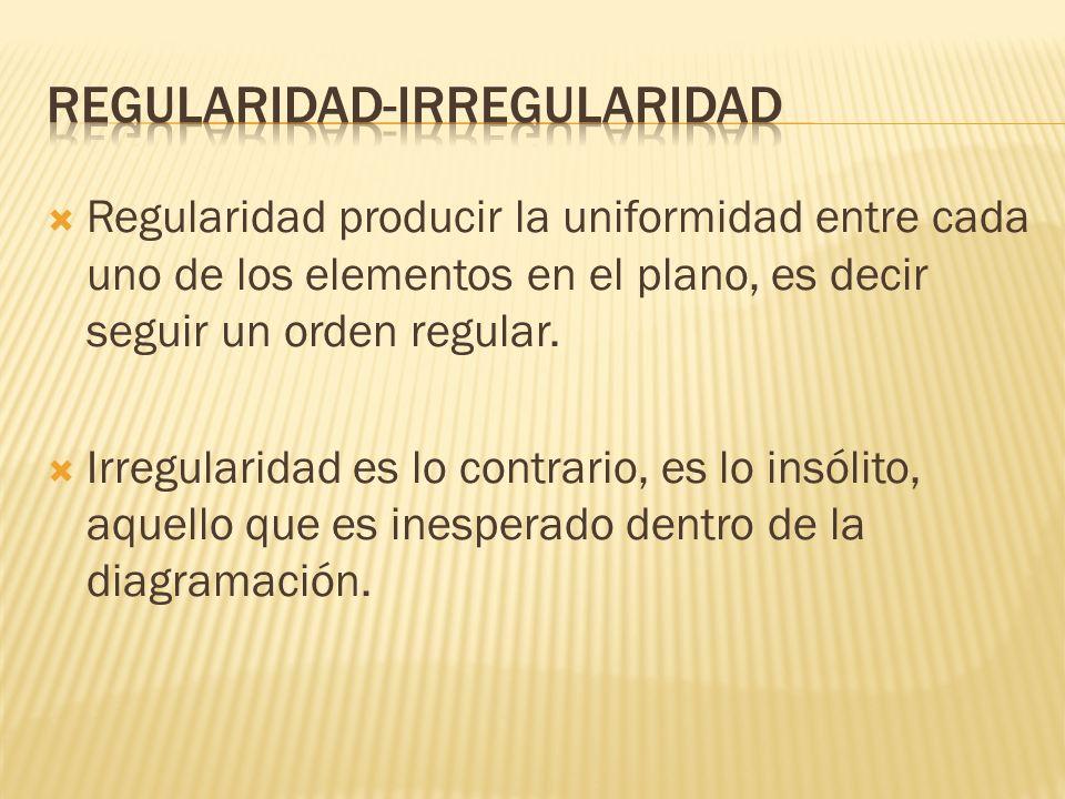 Regularidad-irregularidad