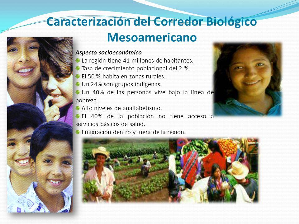 Caracterización del Corredor Biológico Mesoamericano