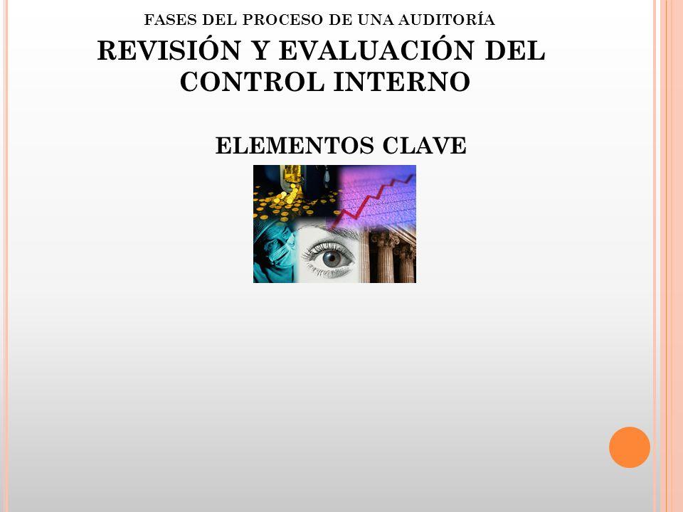 REVISIÓN Y EVALUACIÓN DEL