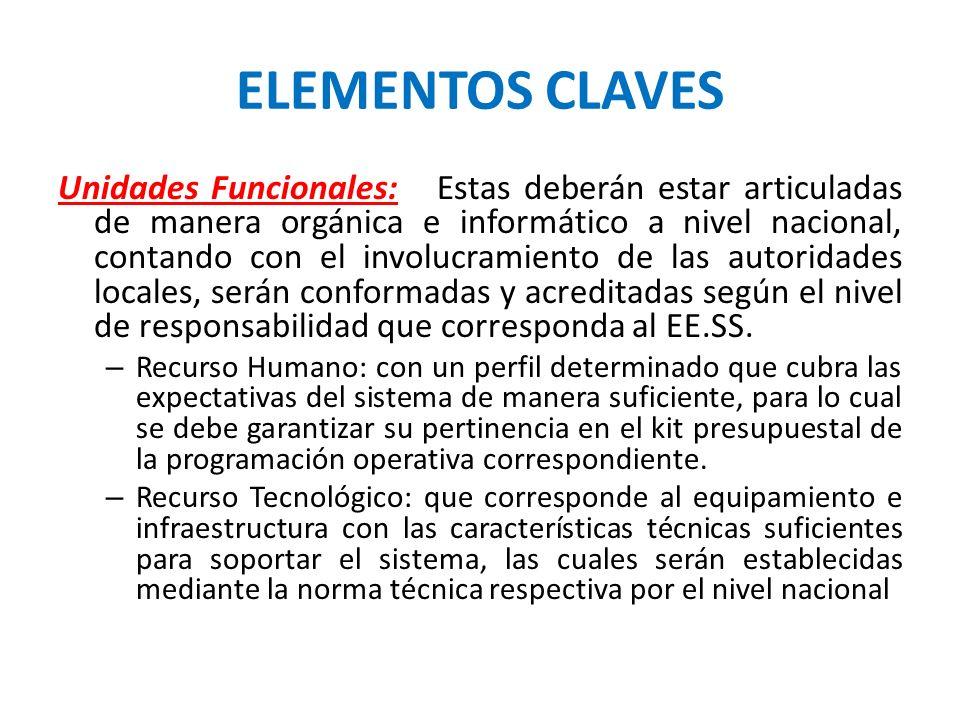 ELEMENTOS CLAVES
