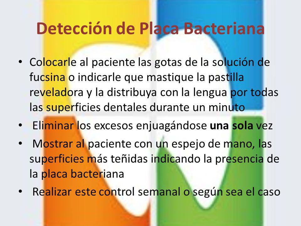 Detección de Placa Bacteriana