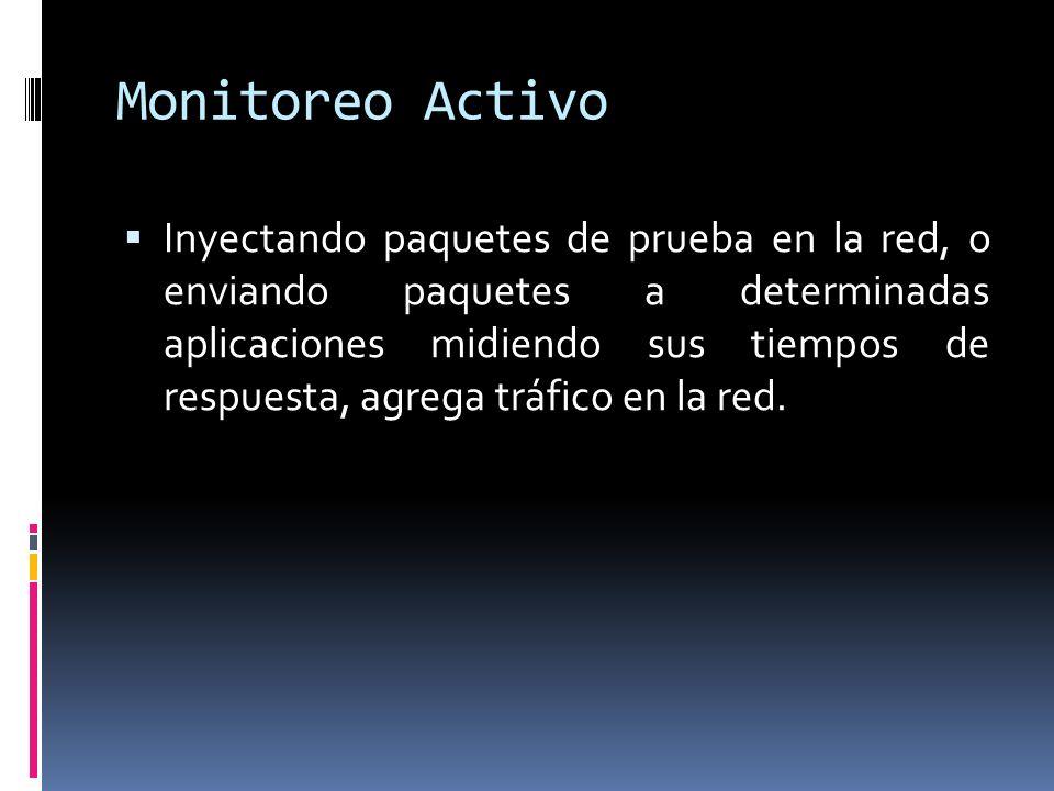 Monitoreo Activo