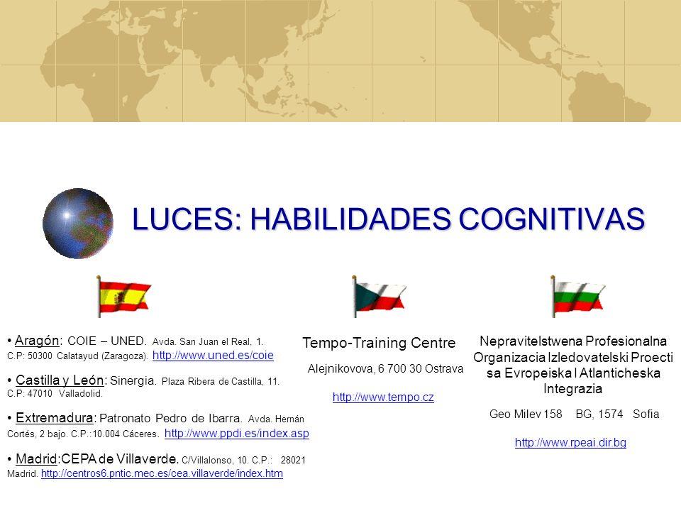 LUCES: HABILIDADES COGNITIVAS
