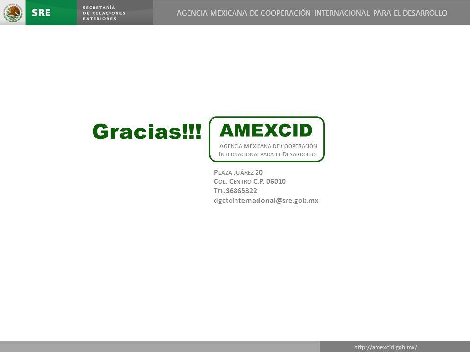 Agencia Mexicana de Cooperación