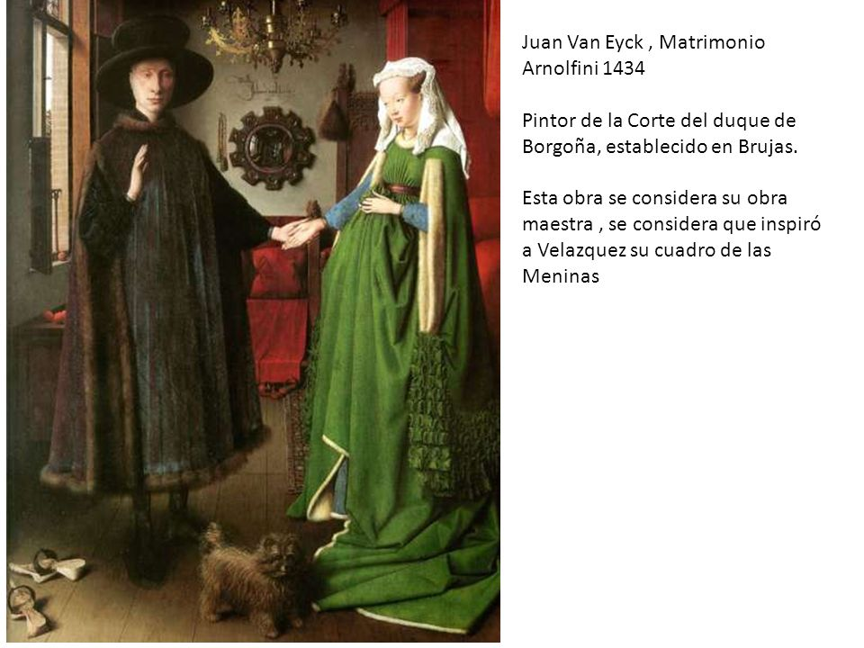 Juan Van Eyck , Matrimonio Arnolfini 1434