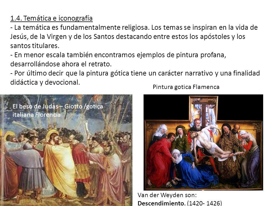 1.4. Temática e iconografía
