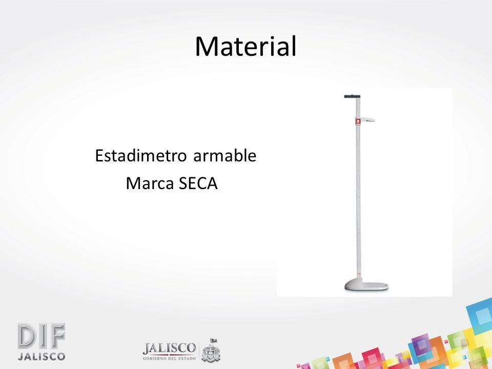 Material Estadimetro armable Marca SECA