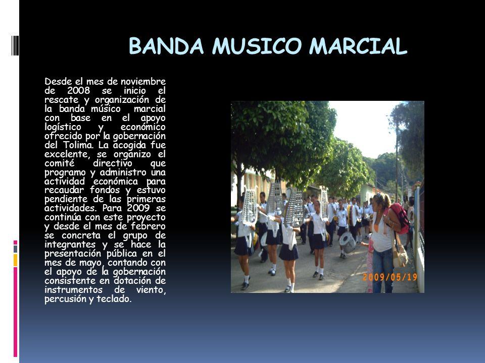 BANDA MUSICO MARCIAL