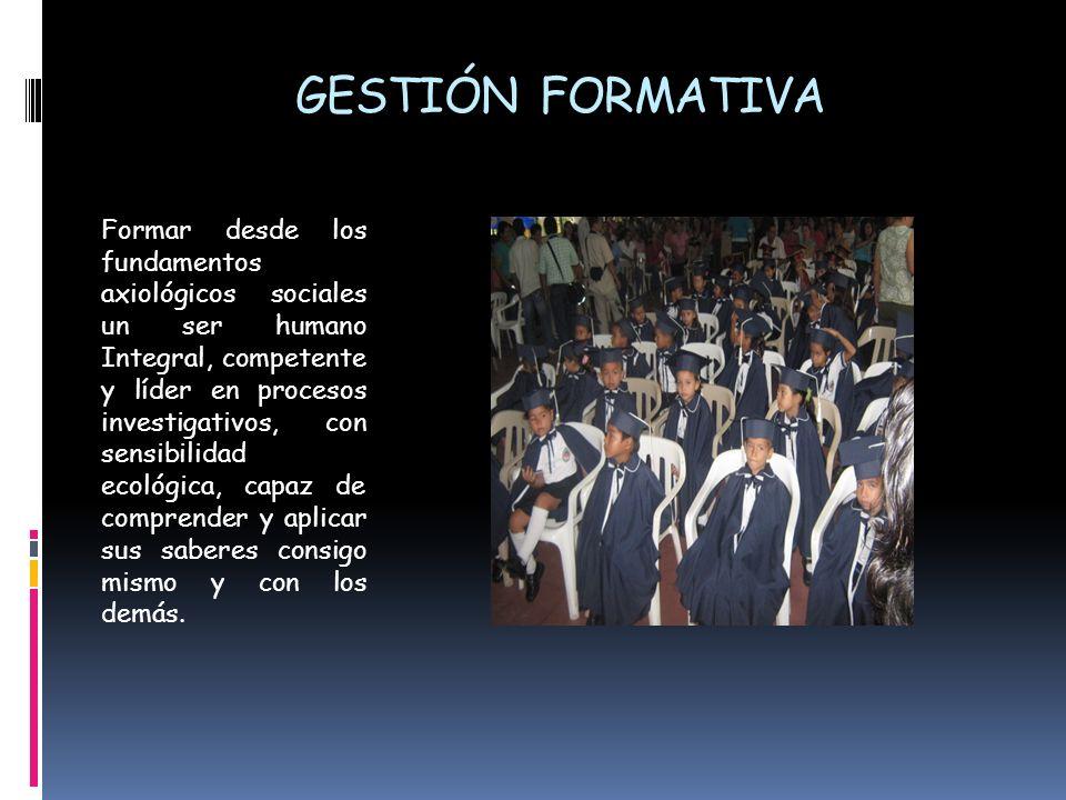 GESTIÓN FORMATIVA