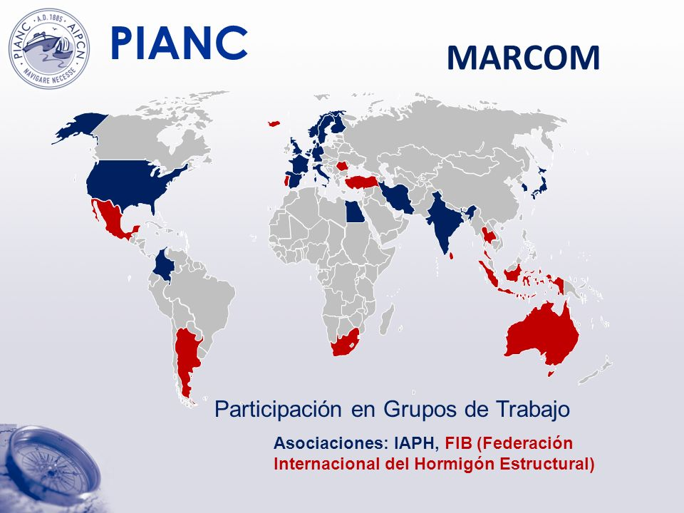 MARCOM Participación en Grupos de Trabajo