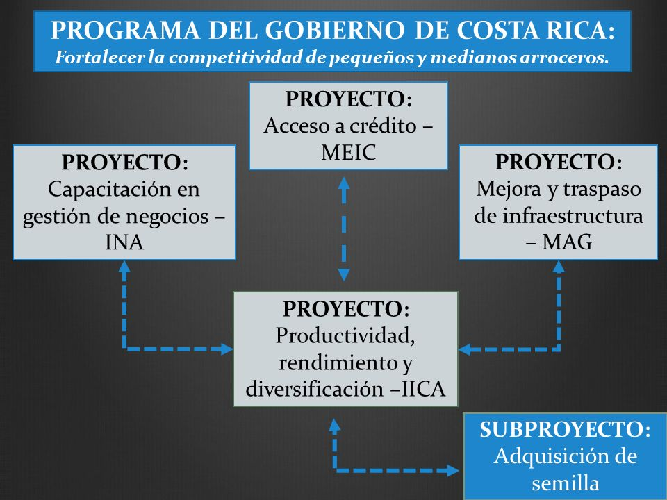 PROGRAMA DEL GOBIERNO DE COSTA RICA: