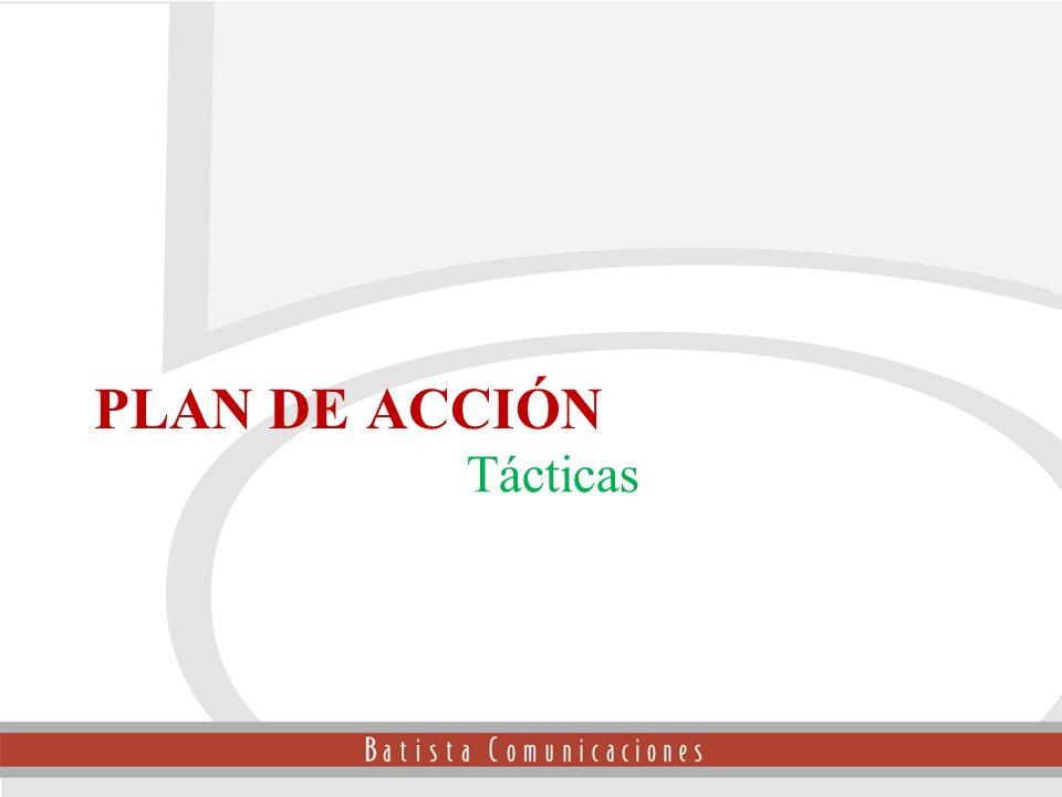 Tácticas Plan de Acción