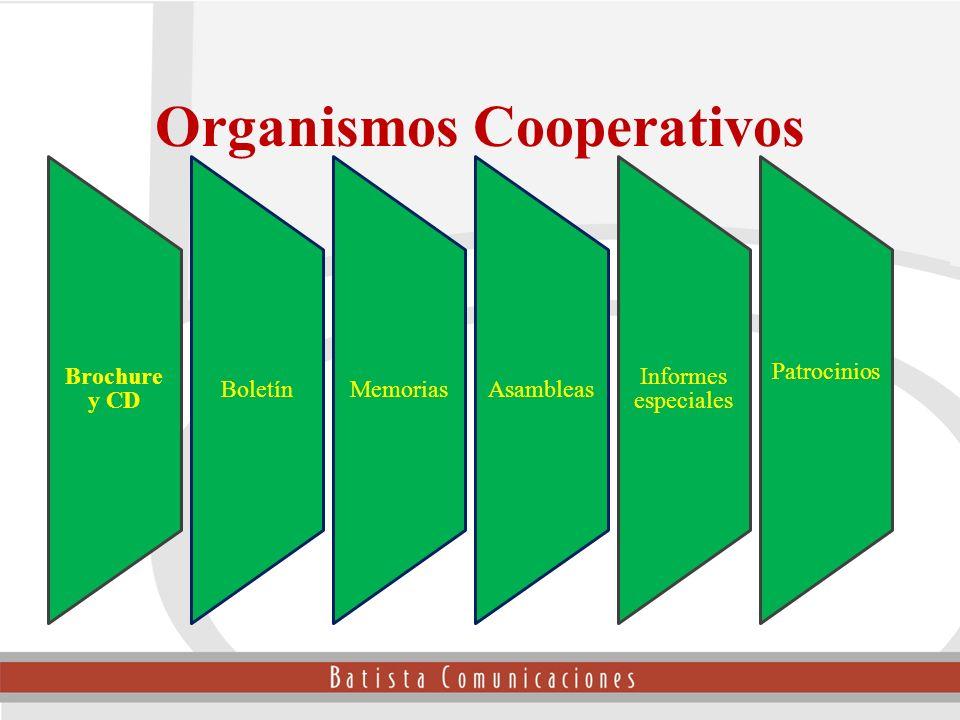 Organismos Cooperativos