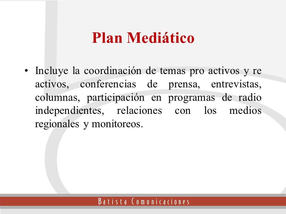 Plan Mediático