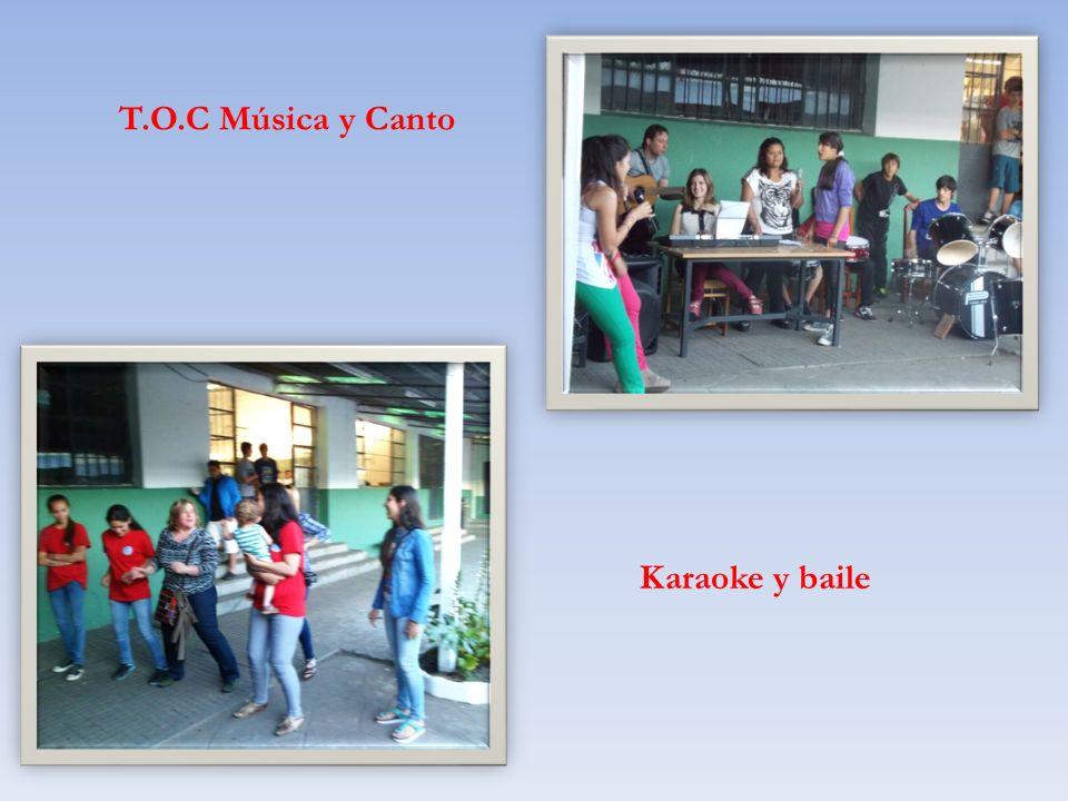 T.O.C Música y Canto Karaoke y baile