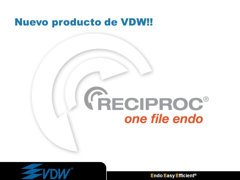 Nuevo producto de VDW!!