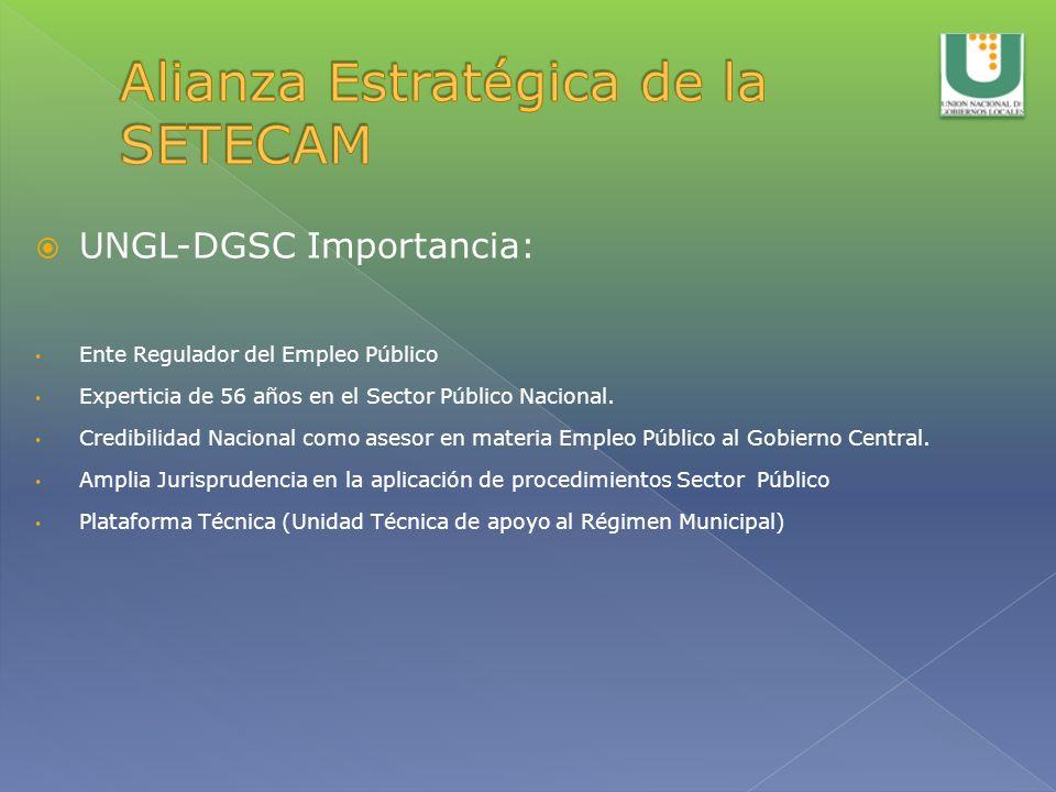Alianza Estratégica de la SETECAM