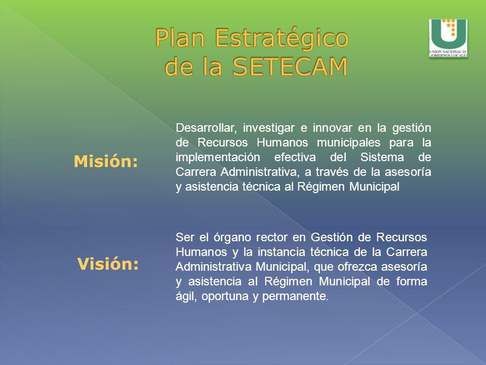 Plan Estratégico de la SETECAM