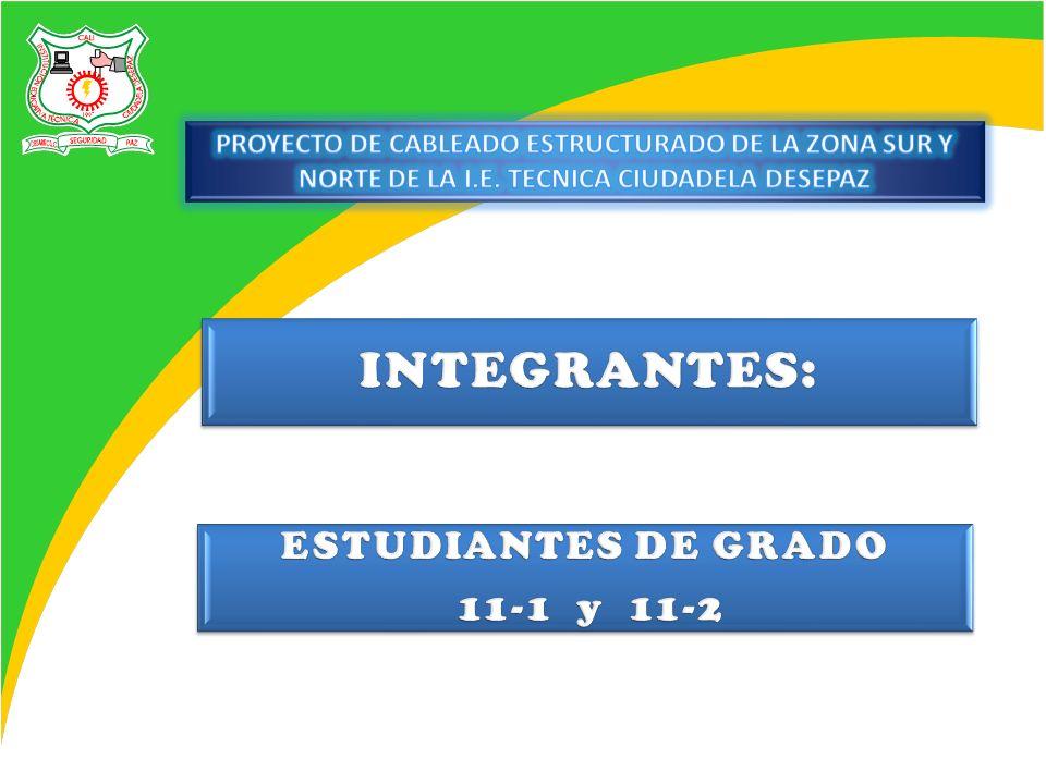 INTEGRANTES: ESTUDIANTES DE GRADO 11-1 y 11-2