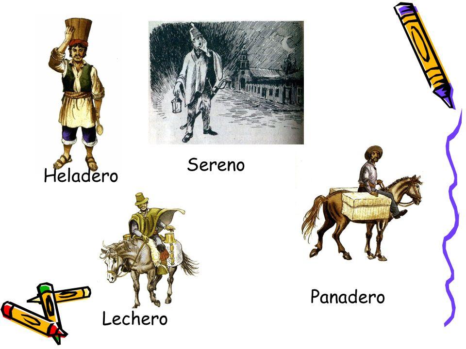 Sereno Heladero Panadero Lechero