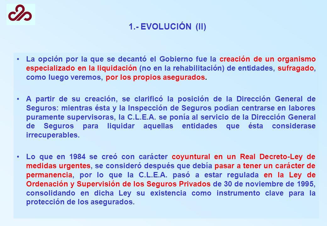 1.- EVOLUCIÓN (II)
