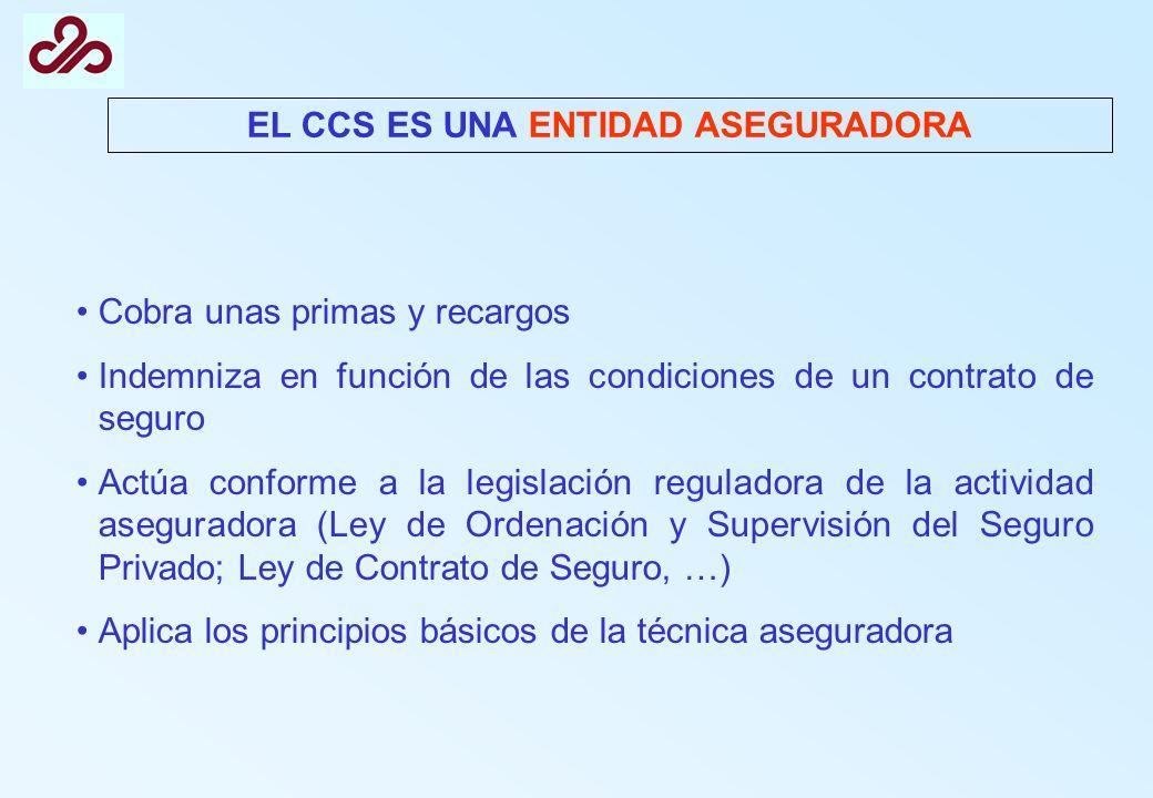 EL CCS ES UNA ENTIDAD ASEGURADORA