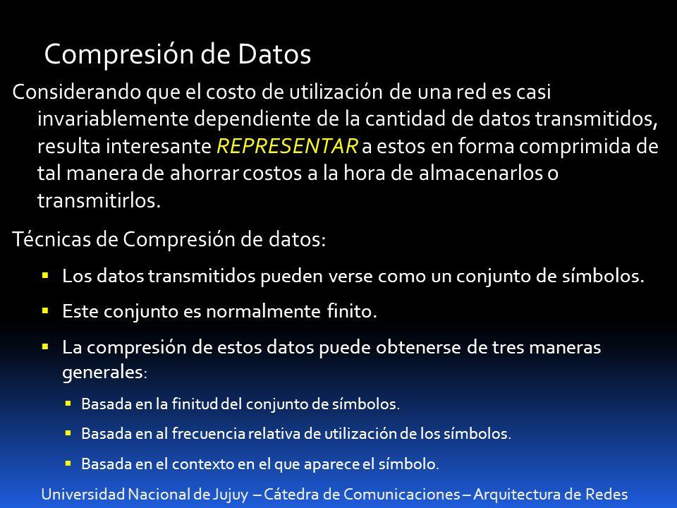 Compresión de Datos