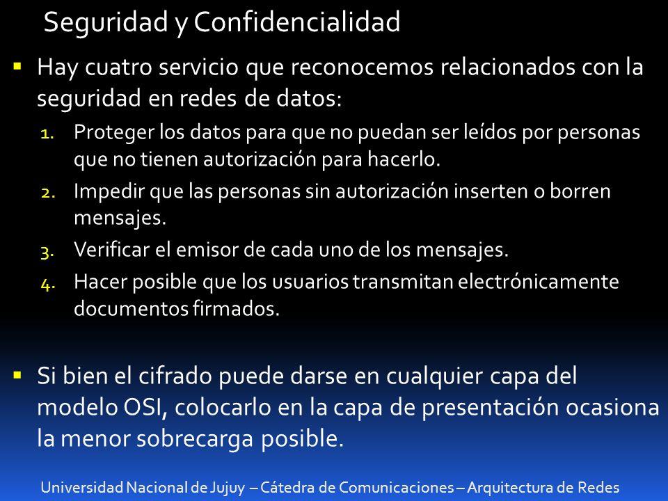 Seguridad y Confidencialidad