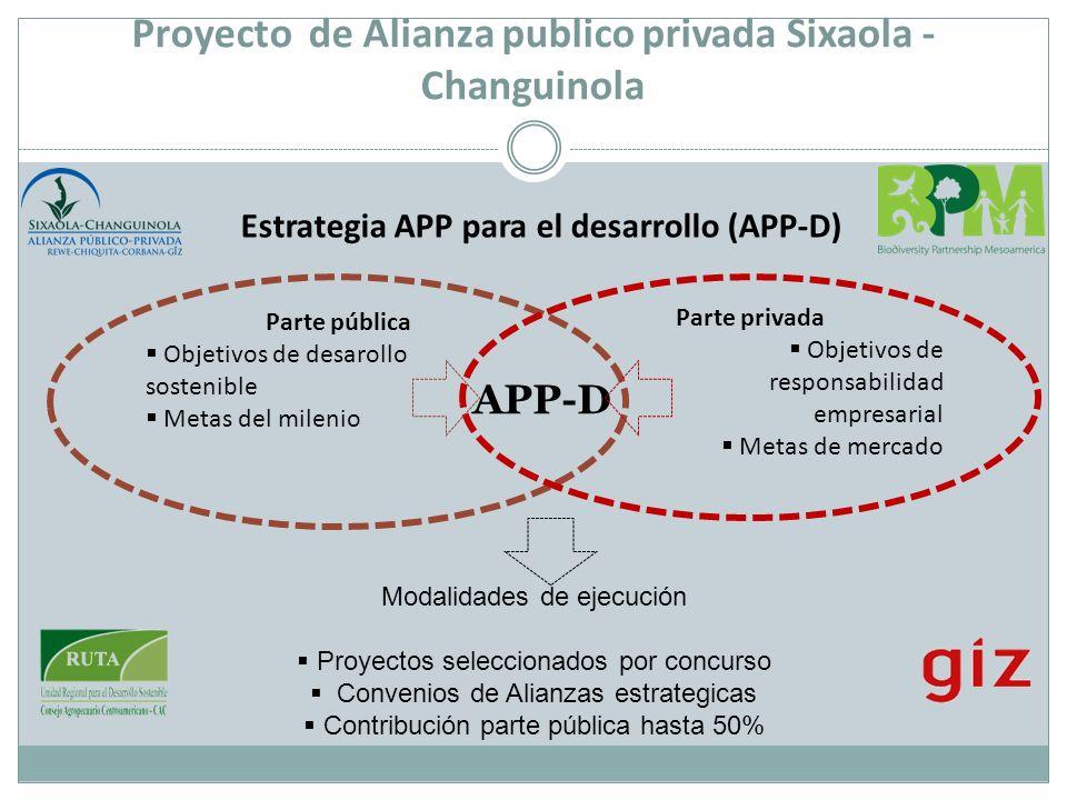 Proyecto de Alianza publico privada Sixaola - Changuinola
