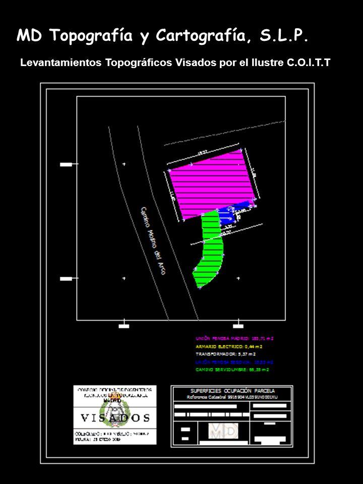MD Topografía y Cartografía, S.L.P.