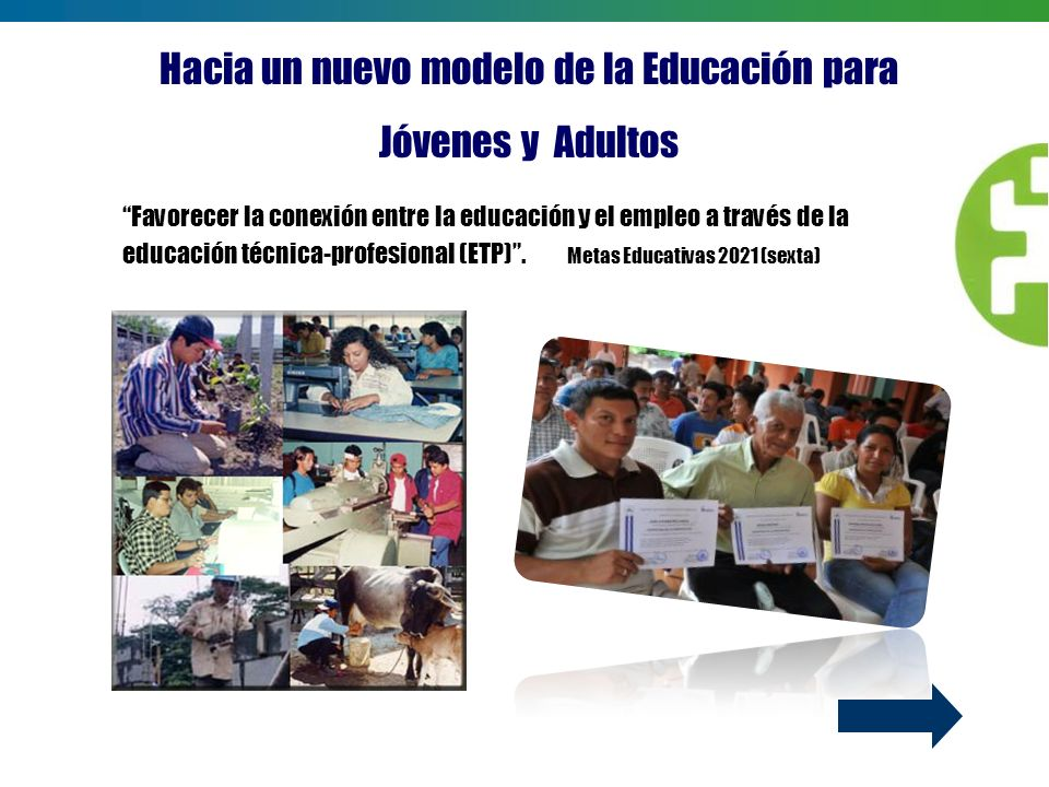 Hacia un nuevo modelo de la Educación para