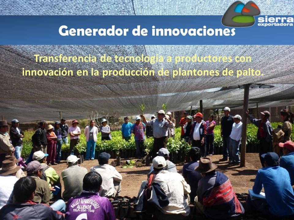 Generador de innovaciones