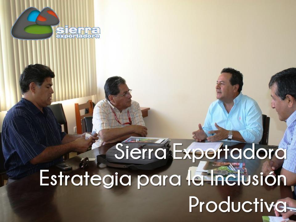 Estrategia para la Inclusión Productiva