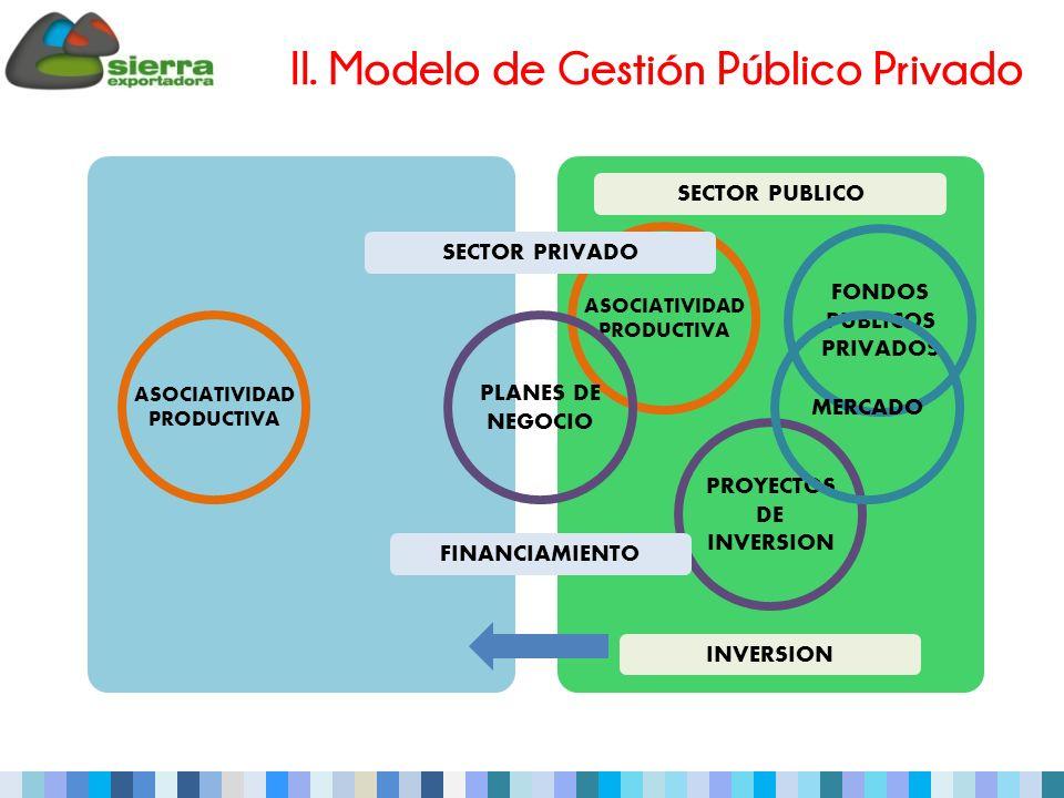 II. Modelo de Gestión Público Privado