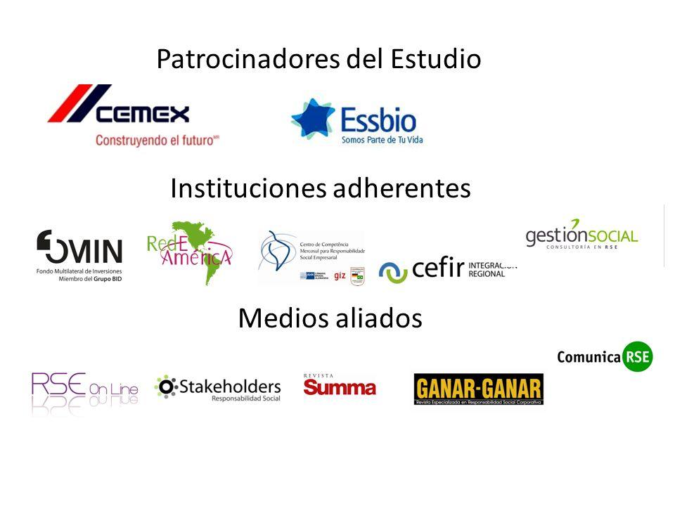 Patrocinadores del Estudio